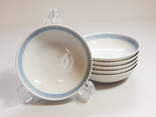 ロイヤルコペンハーゲン ボウル■ブルーファン フルーツボウル 6個 希少 レア Blue Fan 1級品 美品