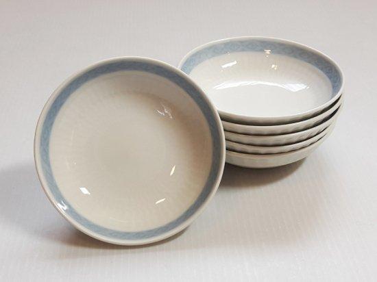ロイヤルコペンハーゲン プレート■ブルーファン バタープレート 小皿 6枚 希少 レア Blue Fan 1級品
