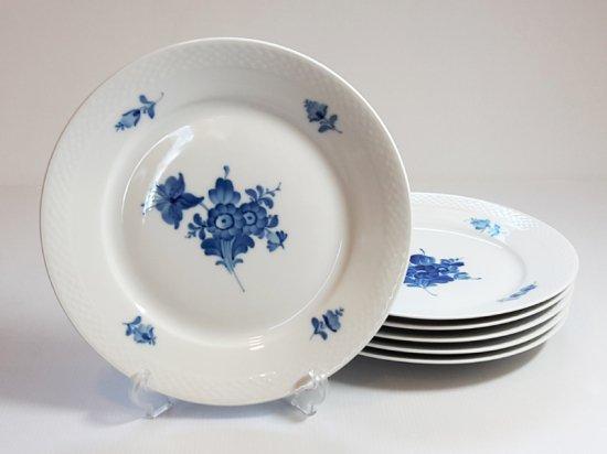 ロイヤルコペンハーゲン■ブルーフラワー プレイン ディナープレート 大皿 6枚 1級品