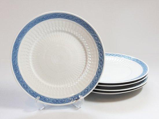 ロイヤルコペンハーゲン プレート■ブルーファン ディナープレート 5枚セット 大皿 レア Blue Fan