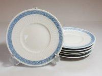 ロイヤルコペンハーゲン プレート■ブルーファン デザートプレート 6枚セット 皿 レア Blue Fan 1級品 1