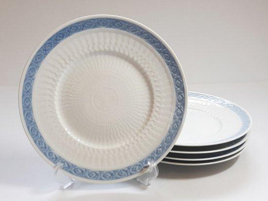 ロイヤルコペンハーゲン プレート■ブルーファン ランチプレート 5枚セット 皿 レア Blue Fan 1級品 2