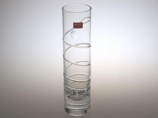 バカラ 花瓶 ● オルグ スパイラル フラワー ベース クリスタル 一輪挿し 未使用品
