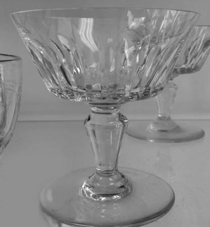 バカラ グラス ビアリッツ シャンパン クープ  グラス シャーベット Biarritz