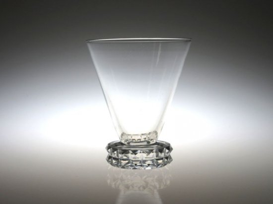オールド サンルイ グラス ● ディアマン ダイヤモンド ワイン グラス 8cm ダイアモンド ヴィンテージ Diamant