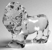 ヴァルサンランベール アニマル ライオン フィギュリン クリスタル Lion