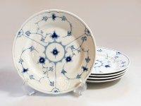 ビングオーグレンダール B&G プレート■ブルーフル—テッド サラダプレート 皿 5枚セット 1級品 1
