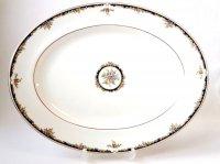 ウェッジウッド プレート ■ オズボーン オーバル サービングプレート 大皿 1級品 Osborne