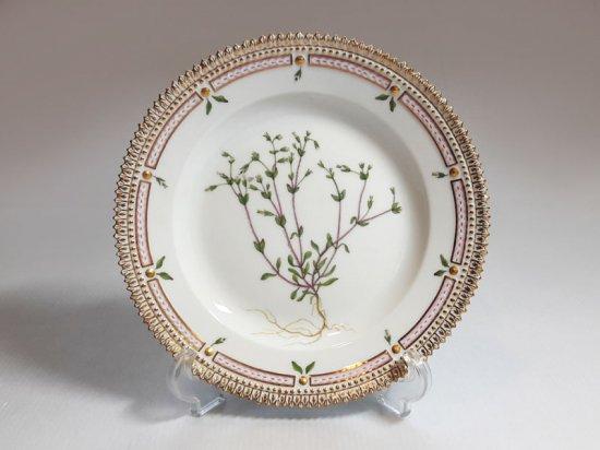 ロイヤルコペンハーゲン プレート■フローラダニカ サラダプレート 皿 1枚 植物図鑑 1級品 美品