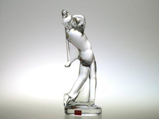 バカラ フィギュリン ● オーガスタ ゴルファー ゴルフ スイング ショット オーナメント オブジェ クリスタル 24cm Golf<img class='new_mark_img2' src='https://img.shop-pro.jp/img/new/icons11.gif' style='border:none;display:inline;margin:0px;padding:0px;width:auto;' />