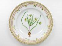 ロイヤルコペンハーゲン プレート■フローラダニカ ディナープレート 大皿 1枚 フリル 植物図鑑 1級品 美品