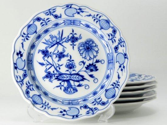 マイセン プレート■ブルーオニオン サラダプレート 6枚セット 皿 Meissen