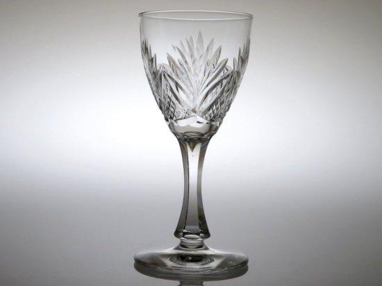 サンルイ グラス ● シャンティ 赤 ワイン グラス ヴィンテージ クリスタル Chantilly