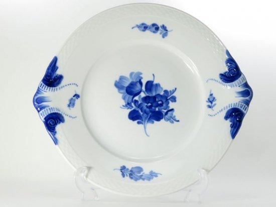 ロイヤルコペンハーゲン プレート■ブルーフラワープレイン サービングプレート 1枚 大皿 1級品