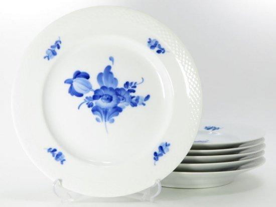 ロイヤルコペンハーゲン プレート■ブルーフラワー プレイン ディナープレート 大皿 6枚 1級品