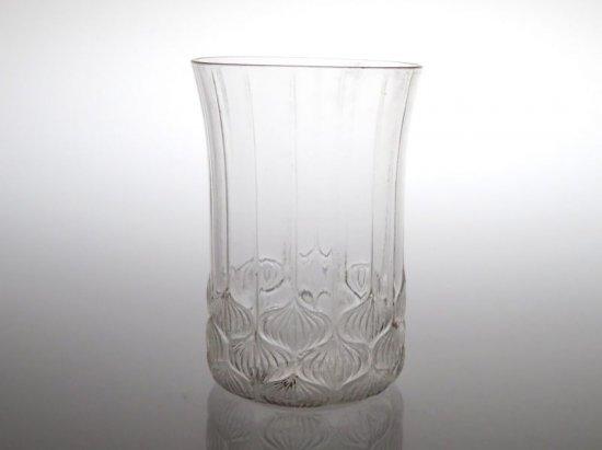 アンティーク ラリック グラス ● ハーレム タンブラー 7cm 希少 玉ねぎ カタログ 掲載品 レア