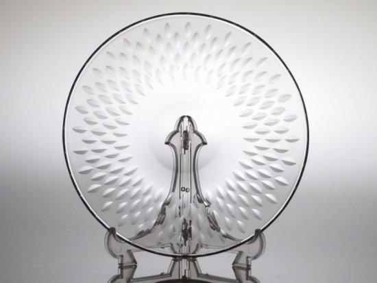 バカラ プレート ● パリ ケーキ 皿 16cm ヴィンテージ クリスタル ガラス ソーサー Paris