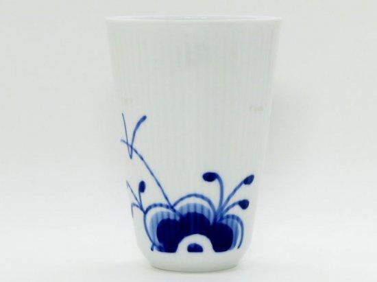 ロイヤルコペンハーゲン カップ■ブルーフルーテッド メガ フリー カップ コップ タンブラー 1個 1級 美品 1