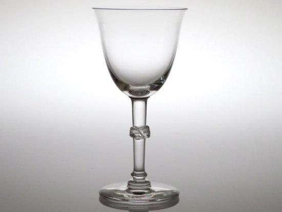 ラリック グラス ● ボージョンシー ワイン グラス 12.5cm 葉 クリスタル Beaugency