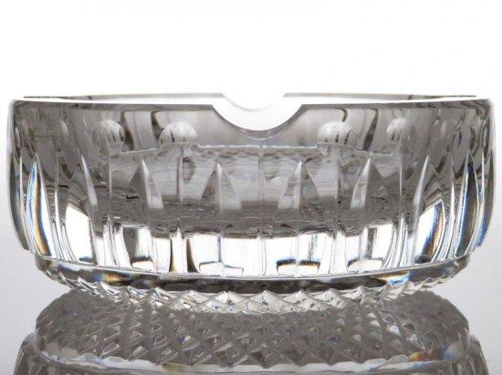サンルイ 灰皿 ● トミー クリスタル アッシュトレイ 小皿 直径 11.5cm ヴィンテージ Tommy