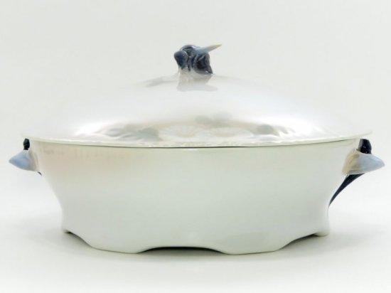 ロイヤルコペンハーゲン ボウル■ミッドサマーナイトドリーム ピンク ベジタブルボウル 蓋付き 1個 昆虫 1級