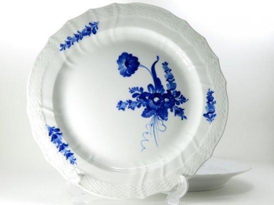 ロイヤルコペンハーゲン プレート■ブルーフラワー カーブ サービングプレート 大皿 トレイ 2枚セット 1級品