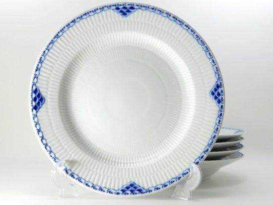 ロイヤルコペンハーゲン プレート■プリンセス ブルー ディナープレート 5枚セット 少し訳あり 大皿 1級品
