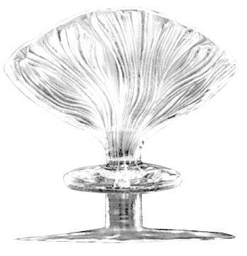 ラリック イコール クリスタル 花瓶