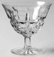 ドーム グラス 多数のカット シャンパンクープ(シャーベットグラス) DAUM