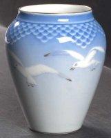 ビングオーグレンダール シーガル 花瓶 フラワーベース 龜型