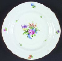 ヘレンド プレート チューリップの花束 プランタン ブレッド&バター プレート