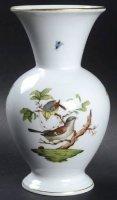 ヘレンド インテリア ロスチャイルドバード 花瓶 フラワーベース ラッパ型 3