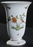 ヘレンド インテリア ロスチャイルドバード 花瓶 フラワーベース オーバル型 大きめ