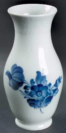 ロイヤルコペンハーゲン ブルーフラワーズ(ブレイデド) 花瓶 フラワーベース B