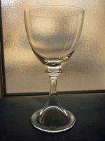 ドーム グラス ウォーターゴブレット トルバドゥール Troubadour フランス クリスタル 18.7cm