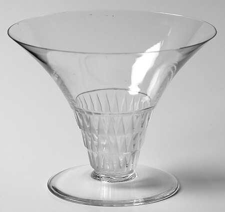 ラリック グラス ブルグイユ ブルゴイユ Bourgueil シャンパン トールシャーベット グラス 幾何学 クリス…