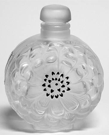 ラリック 香水瓶 ダリア Dahlia パフュームボトル 花 フラワー