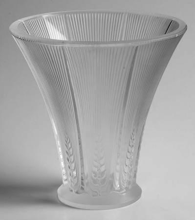 ラリック 花瓶 エピス Epis フラワーベース 一輪挿し 小麦 クリスタル