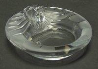 ラリック 灰皿 ライオン Lion アッシュトレイ 小物入れ アクセサリーケース リングトレイ クリスタル