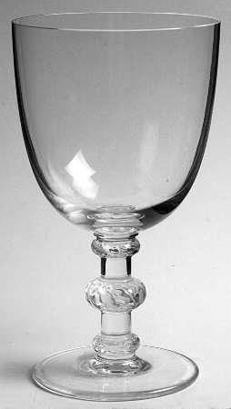ラリック グラス サンチュベール Saint Hubert トール ウォーターゴブレット クリスタル