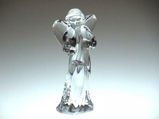 バカラ 置物 ● 天使 エンジェル ラッパ 笛吹き オーナメント フィギュリン Angel