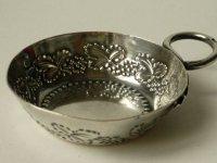 ミニチュア シルバー ワイン テイスター テースター アンティーク スターリングシルバー 銀 1890 ミネルバ