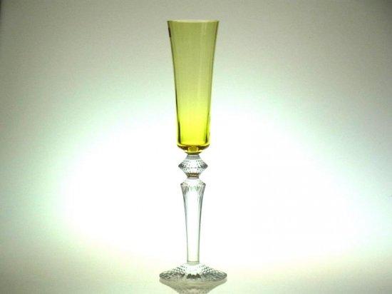 バカラ グラス ● ミルニュイ フルーティッシモ シャンパンフルート イエロー 黄色 Mille Nuits