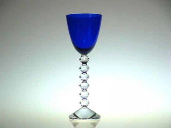 バカラ グラス ● ベガ フォルテッシモ トール ワイン グラス 青 ブルー Vega