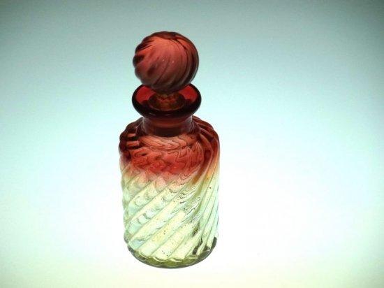 オールド バカラ 香水瓶 ● バンブー ローズ パフュームボトル Bambou