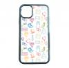 送料無料 iPhone12シリーズ対応 背面強化ガラスケース ウエディング