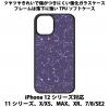 送料無料 iPhone12シリーズ対応 背面強化ガラスケース 星座6