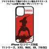 送料無料 iPhone12シリーズ対応 背面強化ガラスケース 侍4