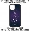 送料無料 iPhone12シリーズ対応 背面強化ガラスケース 星座6 乙女座