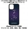 送料無料 iPhone12シリーズ対応 背面強化ガラスケース 星座9 射手座
